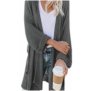 Free People Oversized Slouchy Sweater Cardigan XS